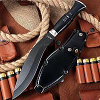 Нож нескладной кукри Сокол 2, туристический и хозяйственно-бытовой инструмент, с чехлом в комплекте