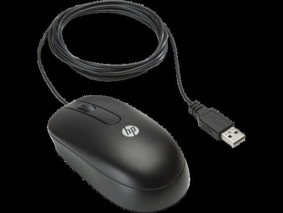 Мышь HP USB Optical Travel Mouse (QY777AT)