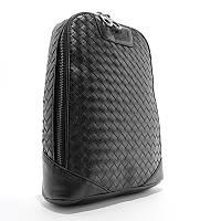 Сумка через плечо, слинг кожаный черный Bottega Veneta 22668-3