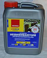Трудновымываемый антисептик  для обработки древесины Neomid 430 Есо 5 л