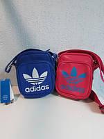 Сумочка Adidas 6823 розовая и синяя код 578А