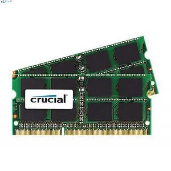 Модуль памяти CRUCIAL SoDIMM for Mac, DDR3, 8GB (2x4Gb) 1066 MHz (CT2C4G3S1067MCEU)