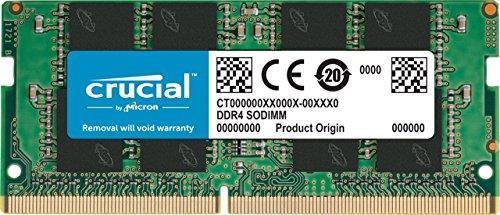 Оперативная память для ноутбука SoDIMM DDR4 8GB 2400 MHz CRUCIAL by Micron (CT8G4SFD824A)