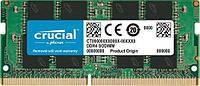 Оперативная память для ноутбука SoDIMM DDR4 8GB 2400 MHz CRUCIAL by Micron (CT8G4SFD824A), фото 1
