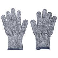 Перчатки с защитой от порезов Cut Resistant Gloves Серые hubnp21076, КОД: 666794