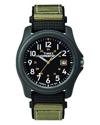 Мужские часы Timex T42571 Expedition серый/черный
