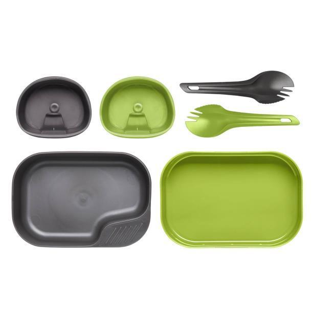 Набор посуды Wildo® CAMP-A-BOX® DUO Light Green - Azure (ID 6203)