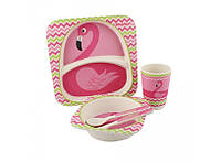 Набор Kronos Toys Розовый фламинго Бамбук tps88-8721084, КОД: 147150