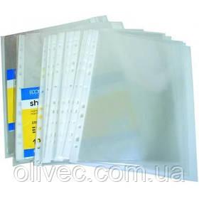 """Файлы """"Economix"""" А5 глянец, 30 мкм, 100 шт."""