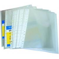 Файл прозрачный Economix А5 глянец 30 мкм 100 шт