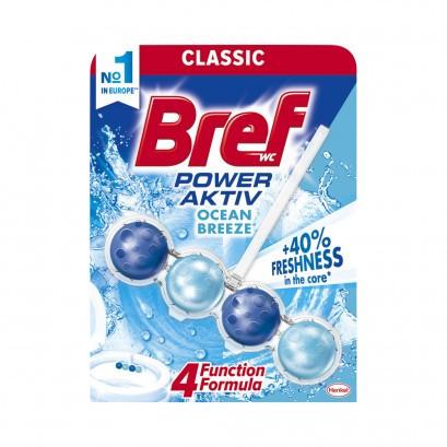 Гігієнічні кульки для унітазу Bref power aktive ocean breeze 50 г