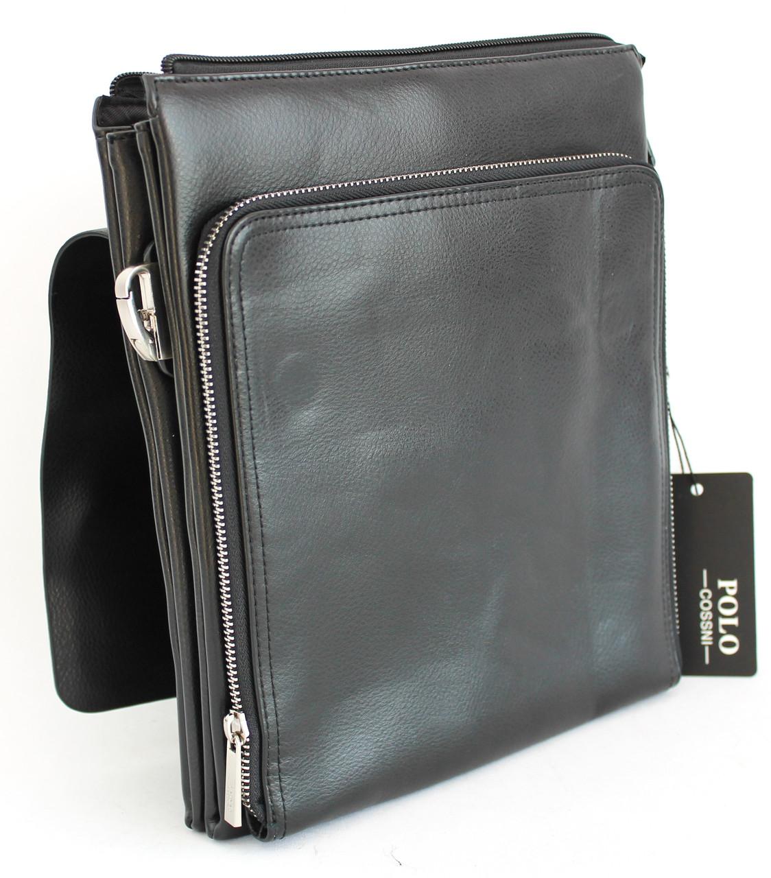 Сумка-планшетка из кожзама Polo B321-3