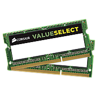 Оперативная память Corsair ValueSelect 16GB (2x8GB) DDR3L SODIMM (CMSO16GX3M2C1600C11), фото 1