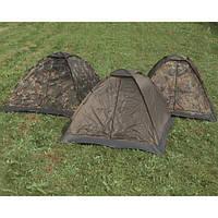 Палатка трехместная Mil-Tec Iglu Standard Woodland (14215020)