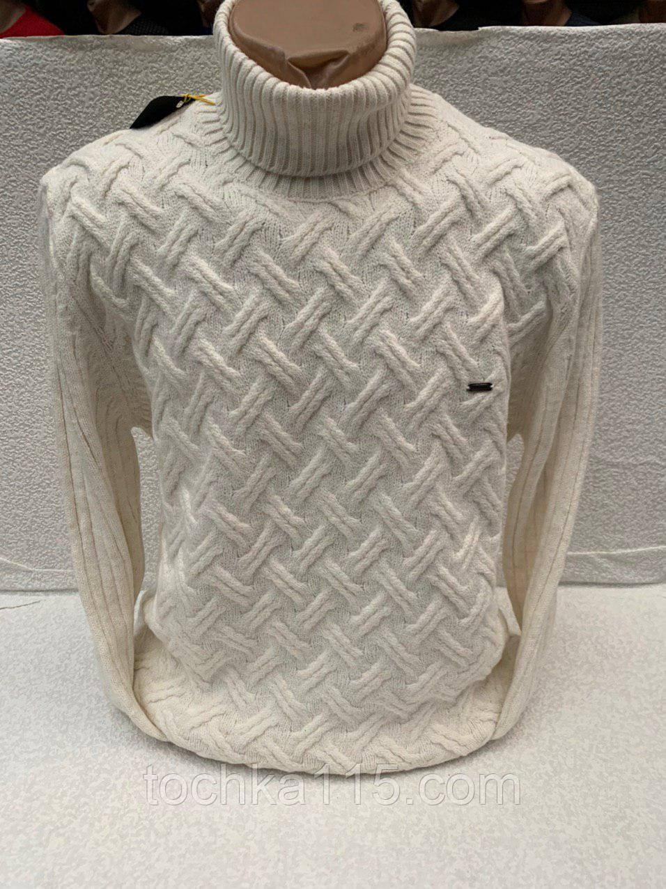 Потрясающий теплый мужской свитер на все случаи