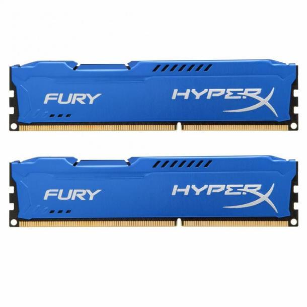 Память Kingston 16 GB (2x8GB) DDR3 1600 MHz HyperX FURY (HX316C10FK2/16)