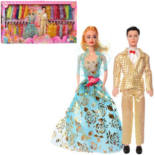 Набор кукол Барби семья ZHB74 с нарядами