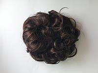 Шиньон - резинка Viola из искусственных волос цвет молочный шоколад