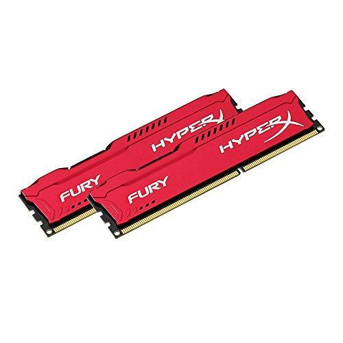Память Kingston 8 GB (2x4GB) DDR3 1600 MHz HyperX FURY (HX316C10FRK2/8)