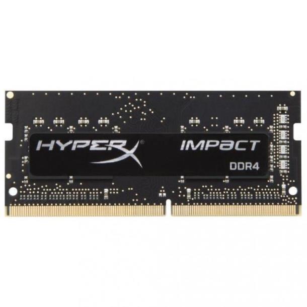 Память Kingston 8 GB DDR4 SO-DIMM 2666 MHz HyperX Impact (HX426S15IB2/8)