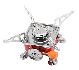 Газовая горелка портативная Stenson R86806 Оранжевый 008033, КОД: 949799