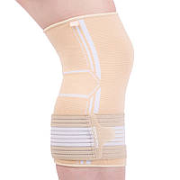 Бандаж спортивный для колена Spokey SEGRO Бежевый s0196, КОД: 212910