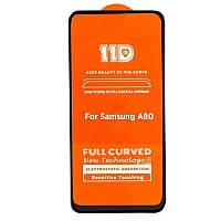 Защитное стекло Smart Boss 11D 5D+ для Samsung Galaxy А80 Black 000000061, КОД: 1346774