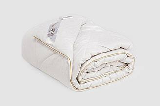 Одеяло IGLEN из овечьей шерсти в жаккардовом дамаске Зимнее 110х140 см Белый 1101405WH, КОД: 141879