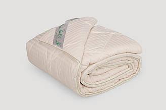 Одеяло IGLEN из хлопка в жаккардовом сатине Демисезонное 160х215 см Белый 16021571, КОД: 141915