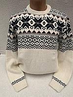 Прекрасный теплый свитер для мужчин
