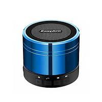 Портативная колонка EasyAcc Mini Portable Rechargeable Bluetooth Speaker с микрофоном СИНЯЯ, фото 1