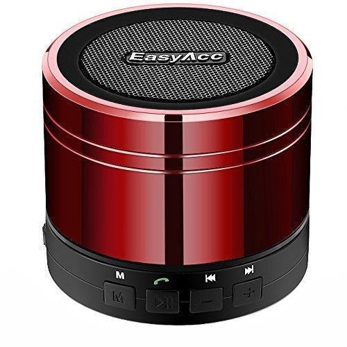 Портативная колонка EasyAcc LX-839 Mini Portable 3Вт Bluetooth с микрофоном КРАСНАЯ