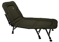 Раскладушка-кровать карповая Elektrostatyk L8 с регулируемой спинкой, 8 ножек, нагрузка до 120 кг, фото 1