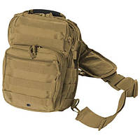 Рюкзак MIL-TEC 10л COYOTE ONE STRAP ASSAULT PACK SMALL  (14059105)