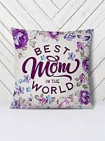 Декоративная подушка с 3D принтом, сублимация ReD Best Mom