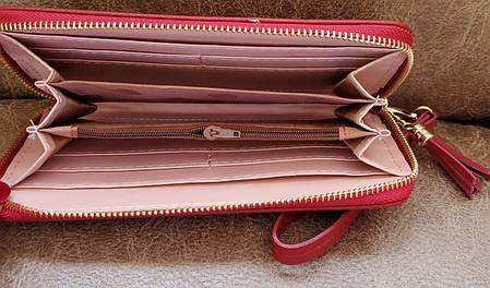 Гаманець жіночий бордо (19*10*2) С079-28, фото 2