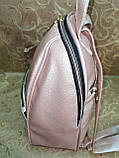 (34*25)Женский рюкзак искусств кожа качество городской спортивный стильный Популярный опт, фото 4