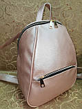 (34*25)Женский рюкзак искусств кожа качество городской спортивный стильный Популярный опт, фото 3