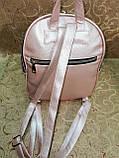 (34*25)Женский рюкзак искусств кожа качество городской спортивный стильный Популярный опт, фото 5