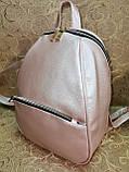 (34*25)Женский рюкзак искусств кожа качество городской спортивный стильный Популярный опт, фото 2