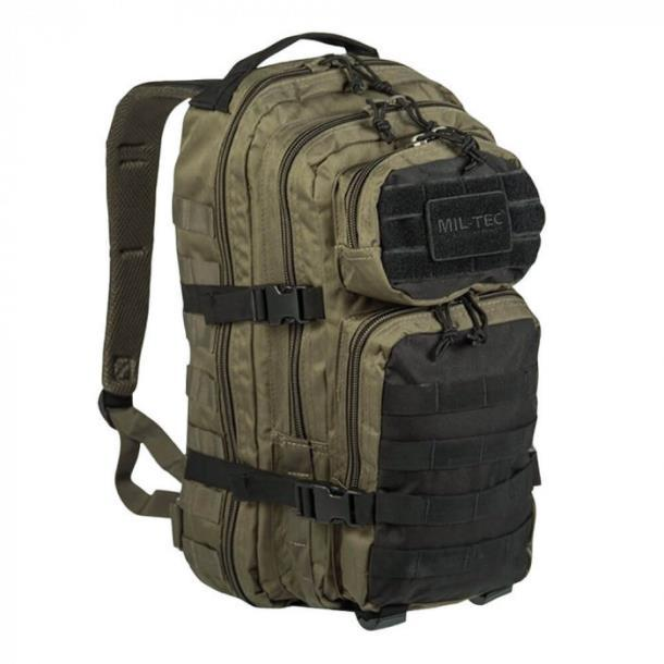 Рюкзак штурмовой Mil-Tec 36 л olive/black (14002301)