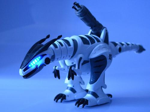 Іграшка Динозавр на радіокеруванні K9, дракон, світло, звук, ходить