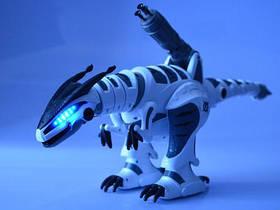 Игрушка Динозавр на радиоуправлении K9, дракон, свет, звук, ходит