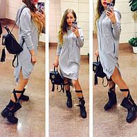 Теплая туника-платье