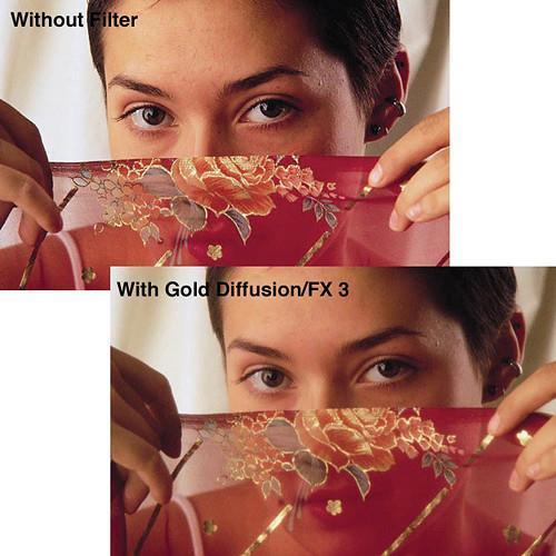 Светофильтр Tiffen 62GDFX5 Gold Diffusion 5 62mm