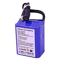 Литий ионный аккумулятор 12 В с ёмкостью 4.4 Ач универсальный YABO-1204400, КОД: 146861