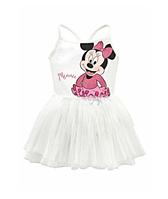 Платье для танцев Disney Minnie Mouse  купальник с фатиновой юбкой 140, 146