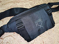 Сумка на пояс off white ткань мессенджер pvc спортивные барсетки сумка бананка только опт, фото 1