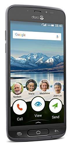 "Смартфон Doro 8040 2Gb/16Gb 5"" Graphite (DSB-0090) (""бабушкофон"")"