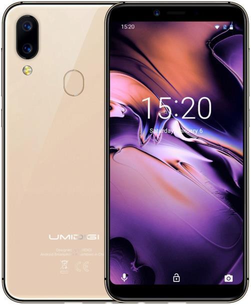 Смартфон UMIDIGI A3 2/16GB Gold